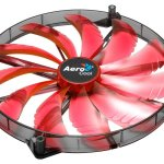Case-fan - 200cm - Red LED