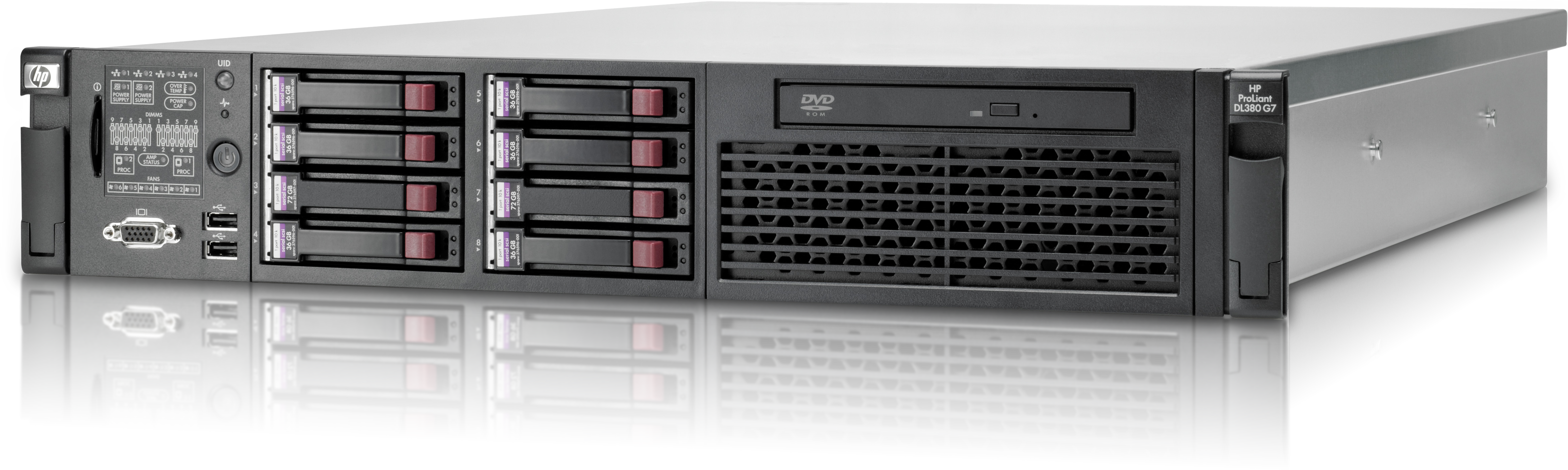 HP DL380p Gen8 Rackmount Servers