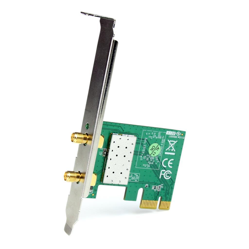 Wireless Nic 802 11b  G  N Pcie Card