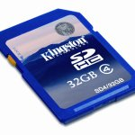 32GB SDHC Flash Card